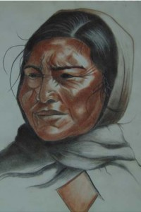 Coloured Charcoal